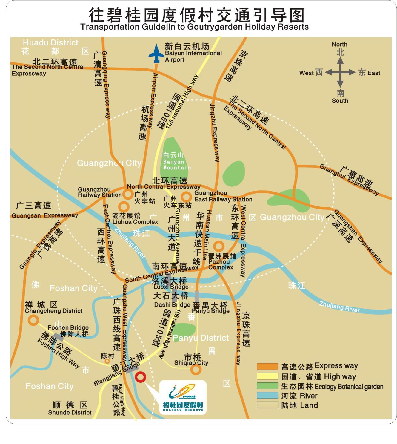 广东省顺德区地图
